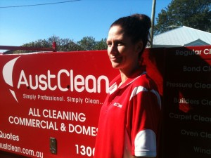 Stacey Williams from AustClean Cleaning