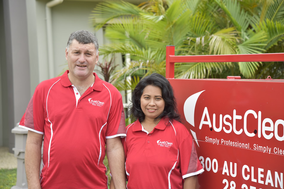 Linda & Glen from AustClean