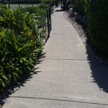 After pathway cleaning services